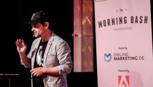 Die Zukunft der Suchmaschinen und Praxiswissen von Spezialisten – The Morning Bash München